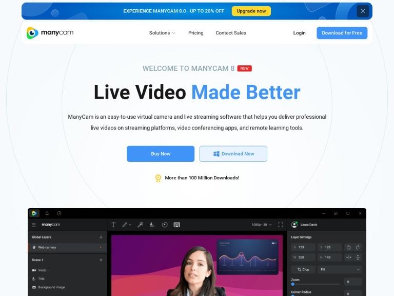 Visicom Media Inc. screenshot