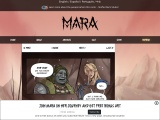 Mara — A webcomic about the littlest barbarian!