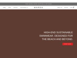Marda Swimwear screenshot