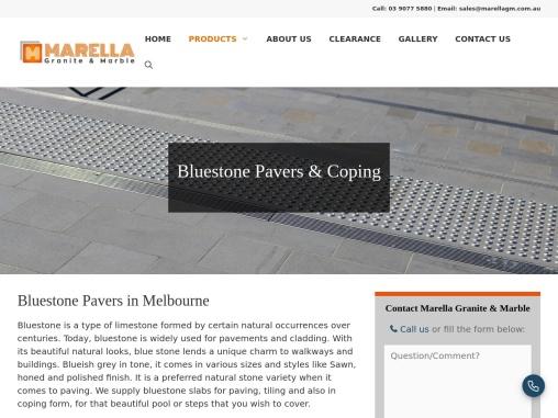 bluestone pavers thomastown | Marella Granite & Marble