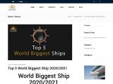 Top 5 World Biggest Ship 2020/2021