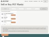 Sell or Buy PET Plastic | PRT plastic raw material