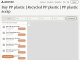 Buy or sell PP plastic | Recycled PP plastic – Atomler