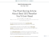 The Most Boring Article About Best SEO Reseller You'll Ever Read