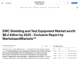 EMC shielding accounted for larger size of the EMC shielding and test equipment market