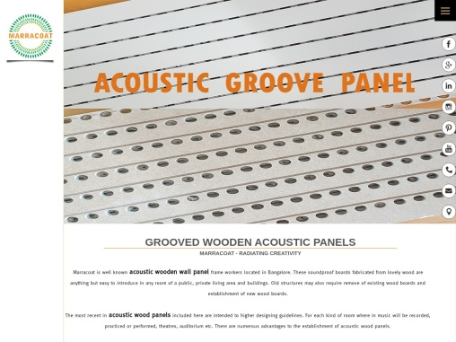 acoustic panels in bangalore
