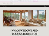 WHICH WINDOWS AND DOORS CHOOSE FOR YOUR HOME?