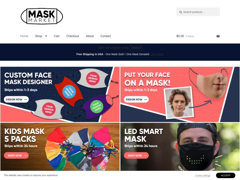 Mask Market screenshot