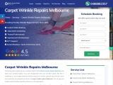 Hire Professional For Carpet Wrinkle Repair Melbourne – Master Carpet Repair Melbourne