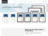 Certificate Frame Shop in Sydney