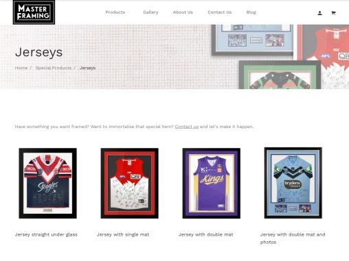 Jersey Printing in Sydney, Australia