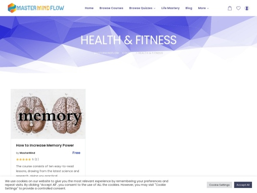 Online Health and Fitness Course