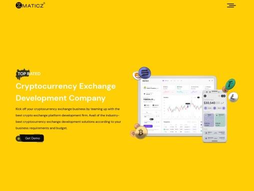 Cryptocurrency Exchange Software Development | Cryptocurrency Exchange Development Company