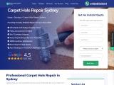 Professional Carpet Hole Repair Sydney – Matrix Carpet Repair Sydney