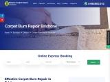 Get Reasonable Carpet Burn Repair Brisbane – Maxpro Carpet Repair Brisbane