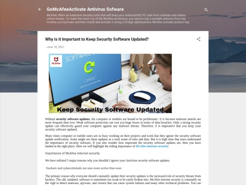 Why is it Important to Keep Security Software Updated?