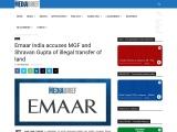 Emaar India accuses MGF and Shravan Gupta of illegal transfer of land