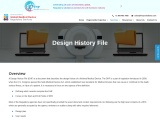 Design history file, DHF remediation, DHF, Medical devices, USFDA