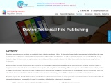 Device Technical File Publishing, Device technical file, DTF, Medical devices