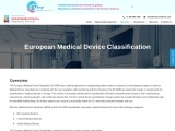 European Medical Device Classification, EU MDR, IVDR Classification, Europe