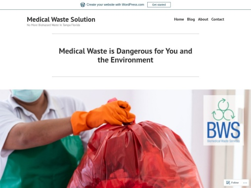 Medical Waste is Dangerous for You and the Environment