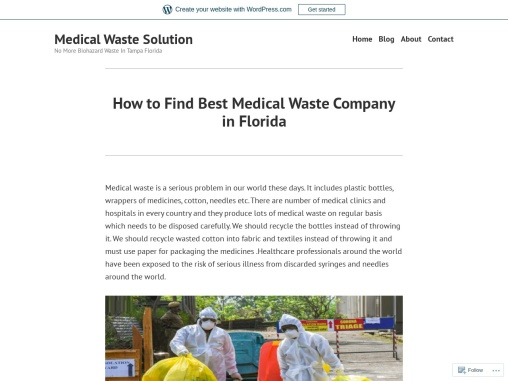 Find Best Medical Waste Company in FL