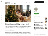 6 Ways to Celebrate Holidays with your Family