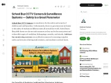School Bus Camera Surveillance Systems – Safety Is a Great Parameter
