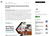 Wi-Fi Based Smart Cloud Cameras for Bank Security