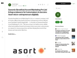 Asort is opening new horizons for its entrepreneurs | Dynamic Beneficial Accord Marketing Pvt Ltd