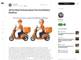 Pros & Cons of Food Delivery Business