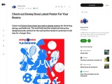 DEWEY DOES CARTOON CHARACTER ANIMATED POSTERS HELPS MILLIONS OF KIDS TO THEIR LEARNING