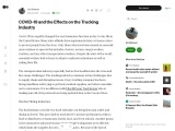 COVID-19 & The Effects on the Trucking Industry