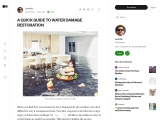 A QUICK GUIDE TO WATER DAMAGE RESTORATION