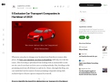 5 Exclusive Car Transport Companies in Haridwar of 2021