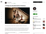 7 Things you should do before Christmas