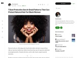 Protective Sew In Braid Patterns That Can Protect Natural Hair