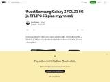 Uudet Samsung Galaxy Z FOLD3 5G ja Z FLIP3 5G puhelimet Luurinetin verkkokaupasta