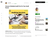 Top Auditing Services in UAE   List of Audit Firms in Dubai   Audit Firms in Abu Dhabi