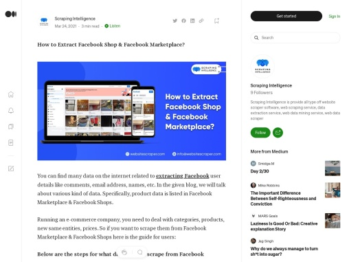 How to Extract Facebook Shop & Facebook Marketplace?