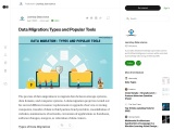 Data Migration: Types and Popular Tools