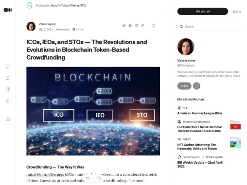 A Detailed Explanation Of ICO, IEO, and STO