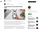 Download Bitcoin & Crypto Wallet: XcelPay Wallet