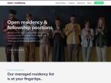 Open Residency & Fellowship Positions