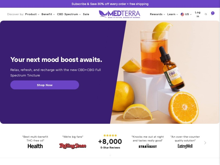 Medterra screenshot