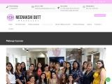 Meenakshi Dutt Makeovers Makeup Courses | Pro & Self