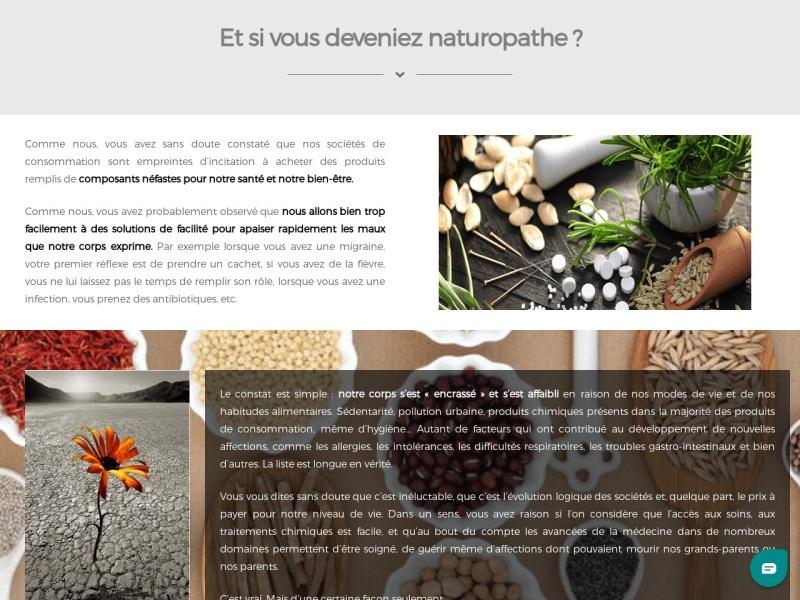 devenez naturopathe certifie
