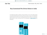 Buy Customized Pendrive online in India