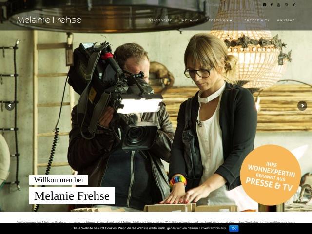 Melanie Frehse - Bloggerin, Wohnexpertin, Influencerin