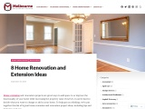 8 Home Renovation and Extension Ideas